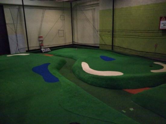 スポッチャのゴルフ