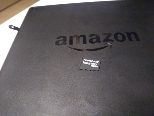 FireタブレットでKindle本やアプリがダウンロードできないのはsdカードが原因だった