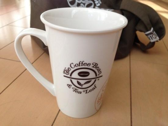 コーヒービーンのマグカップ