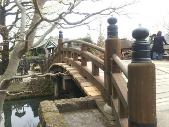 日光江戸村の橋
