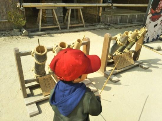 日光江戸村の子供たち