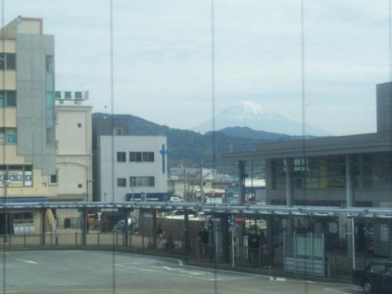 マクドナルドから富士山