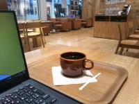 カフェにはゆとりを持っていきたい。ただ作業するだけになると苦しい