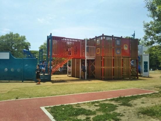 浦安市運動公園の遊具