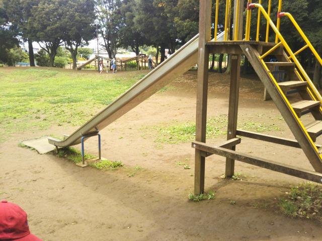 流山市総合運動公園の遊具