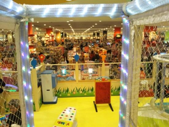 レイクタウンのおもちゃ売り場
