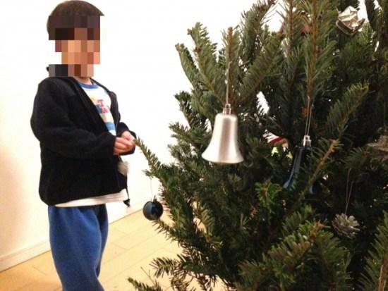 IKEAの本物のモミの木