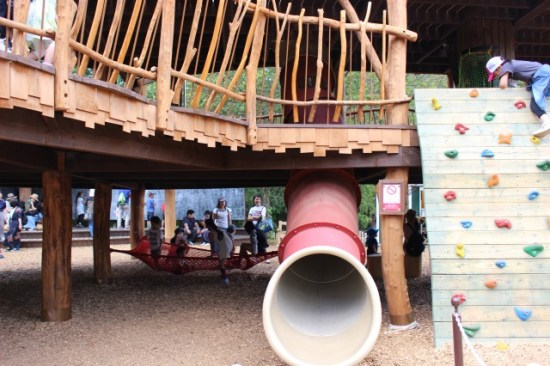 ムーミンバレーパークのヘムレンさんの遊園地