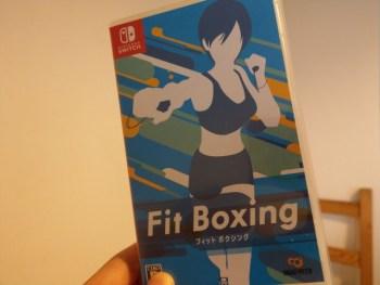 1回1時間、週に2時間は運動の時間を取りたい。Fit boxingがちょうどいい