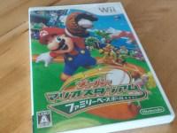 Wiiのスーパーマリオスタジアムが超楽しい!野球好きの長男とマリオ好きな次男が仲良く遊べる