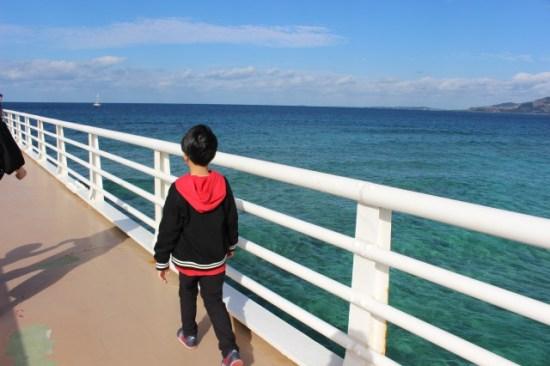ブセナ海中公園の子供