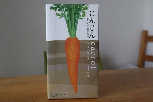 子供たちと「おうちで根菜栽培にんじん」の種まき
