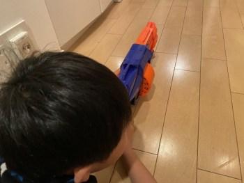 ナーフ銃が安くて子供も大人も楽しめて面白い!