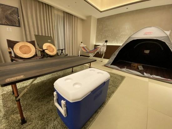 キャンプルームの画像