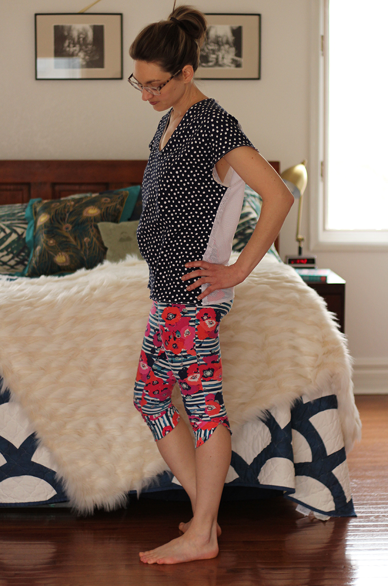 The petal cuffs on Seamwork's Manila leggings are a sweet design detail.