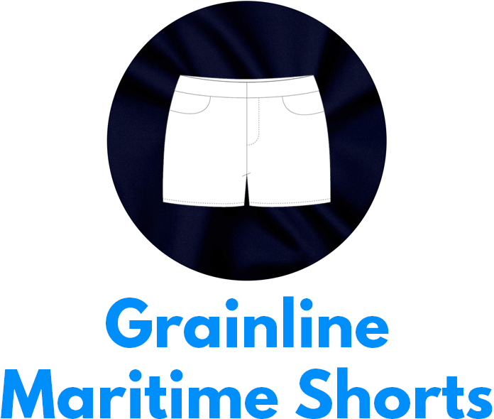 Grainline Maritime shorts is one of my capsule wardrobe sewing patterns.