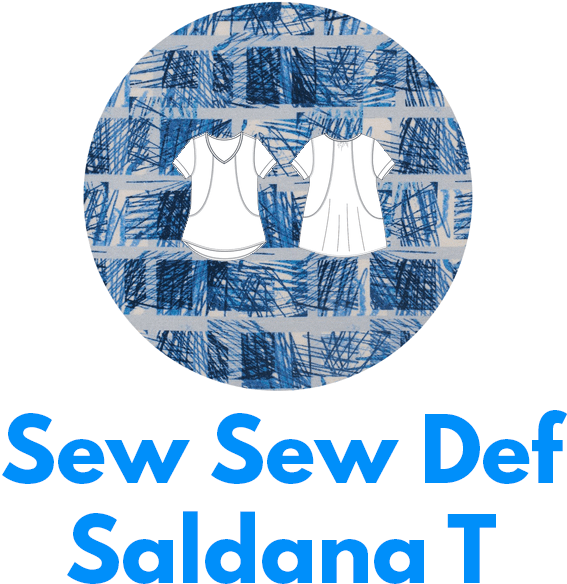 The Saldana T from Sew Sew Def magazine is one of my capsule wardrobe sewing patterns.