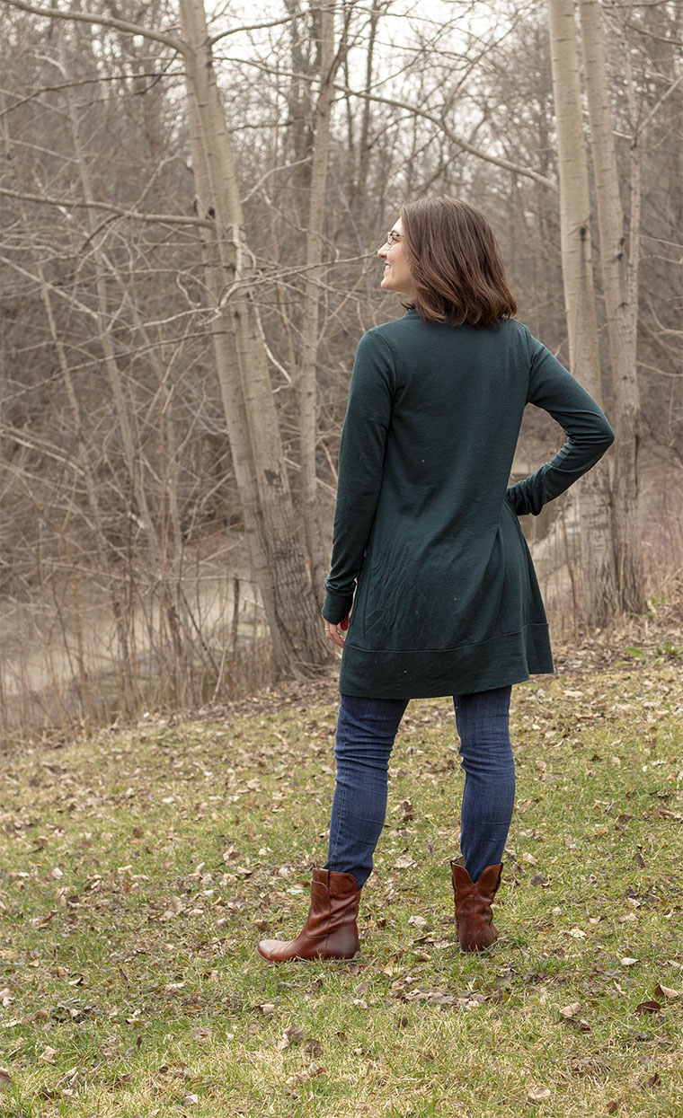 I predict this Blackwood cardigan will get a lot of wear.