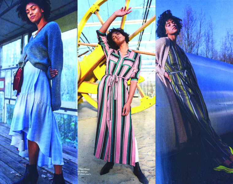 My three fave patterns in this issue of Fibre Mood are the Arlette wrap skirt, the Susan shirt dress, and the Riva jumpsuit.