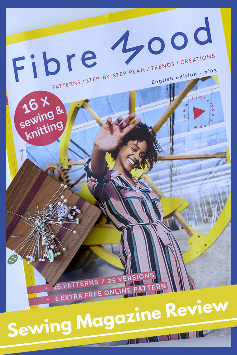 You're invited to read Fibre Mood sewing magazine with me. Fibre Mood publishes sewing patterns and hosts an online community for sewists. If you like Burda Style, Fibre Mood probably is up your alley.