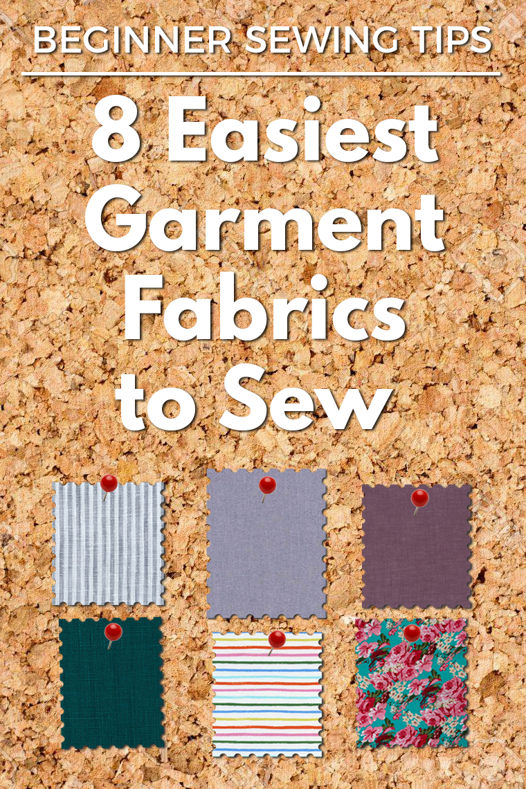 "Easy fabrics to sew are great for beginners AND experienced sewists alike. Forgiving fabric makes just about any sewing technique more pleasant, and sewing with ""easy"" fabric usually is faster and more accurate (vs. tricky material). If you want to better understand why forgiving fabrics are so great, what makes a fabric forgiving, and which fabrics fall into the ""easy to sew"" camp, this post is for you."