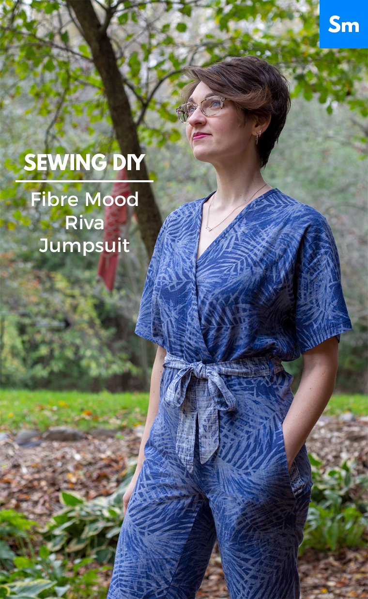 The Riva jumpsuit from Fibre Mood magazine is a charming garment that comes together without much headache.