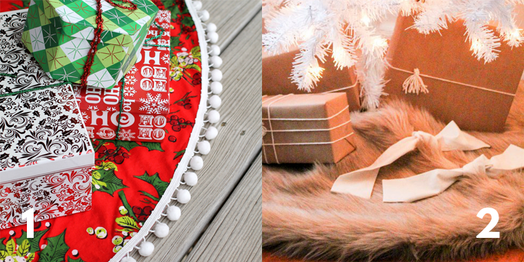 Sew a Christmas tree skirt for a lucky holiday gift recipient!
