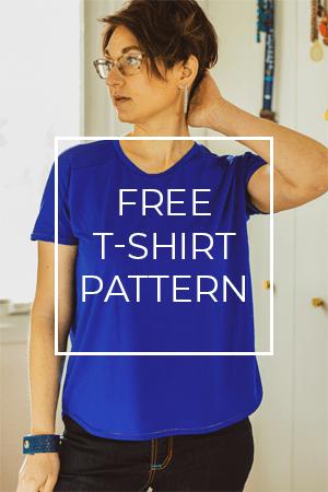 Get Cass, Sie Macht's free T-shirt pattern PDF.