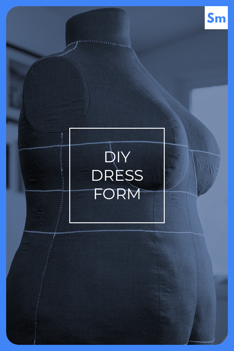 A DIY dress form is a game-changing sewing investment. My custom-fit dress form, which is made of fabric — not duct tape! — and is fully pinnable, helped me learn how to drape, and let me design a sewing pattern for plus-sized bodies.