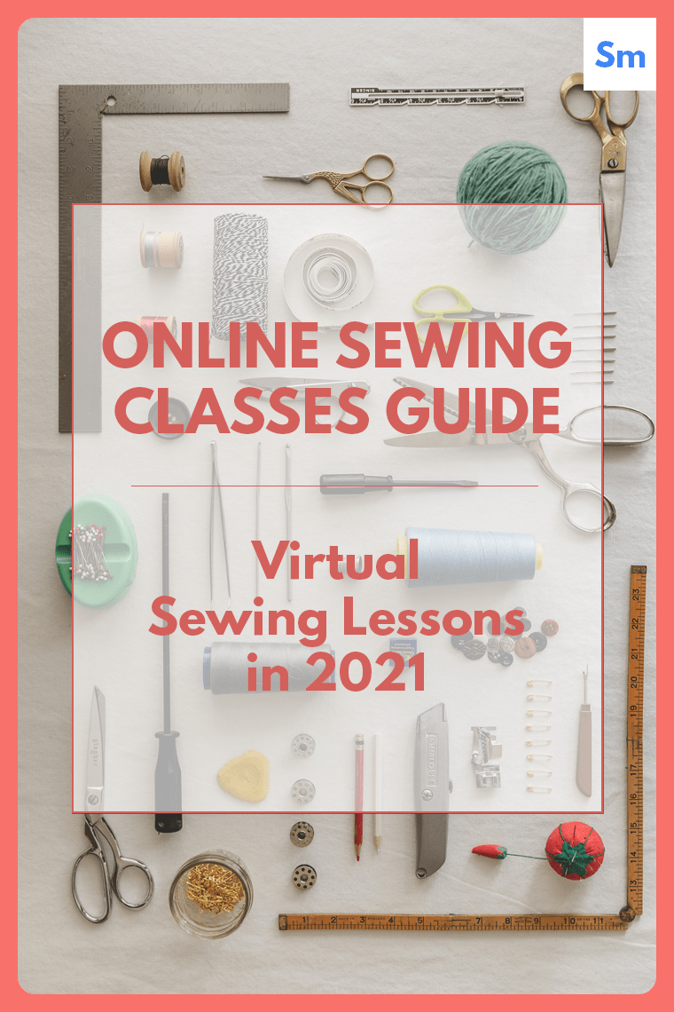 Online sewing classes can help you level up your sewing practice from the comfort of your home.