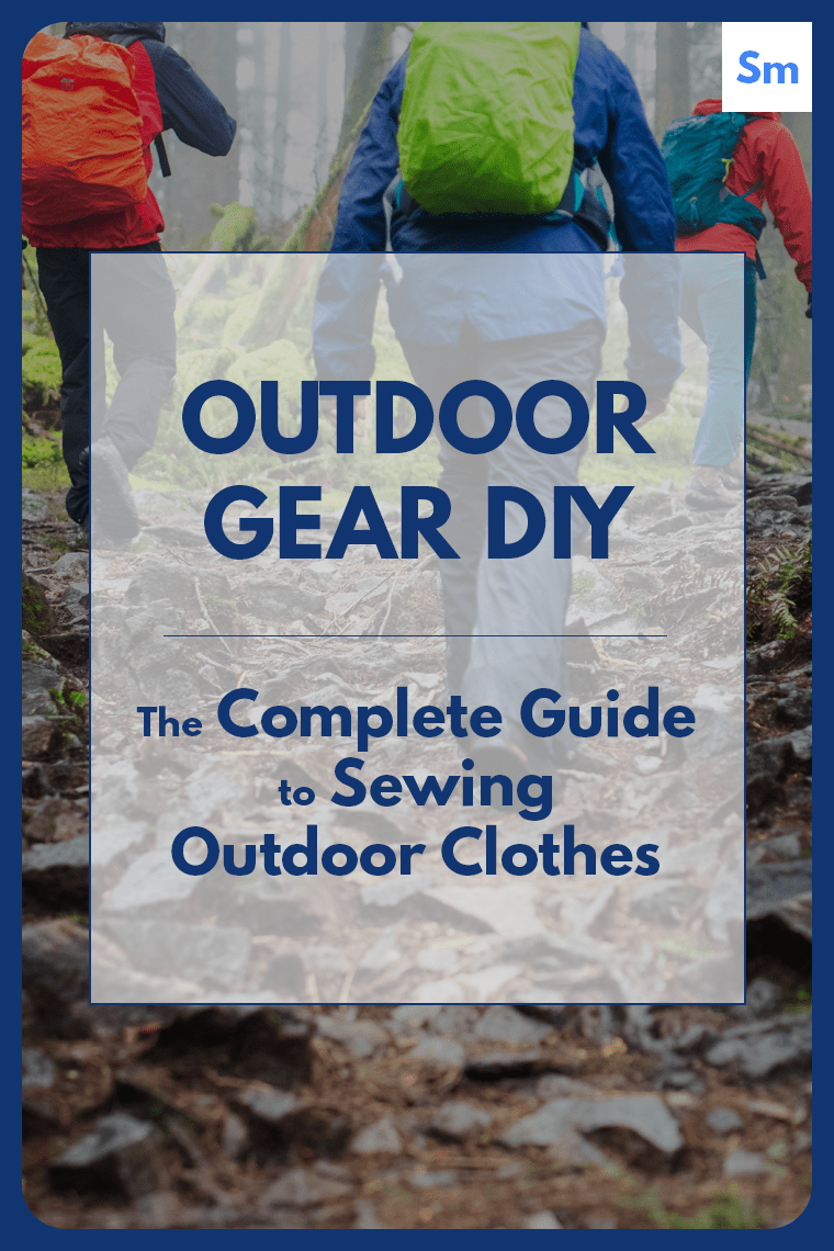 Discover how to source and sew tech fabric when sewing outdoor clothes.
