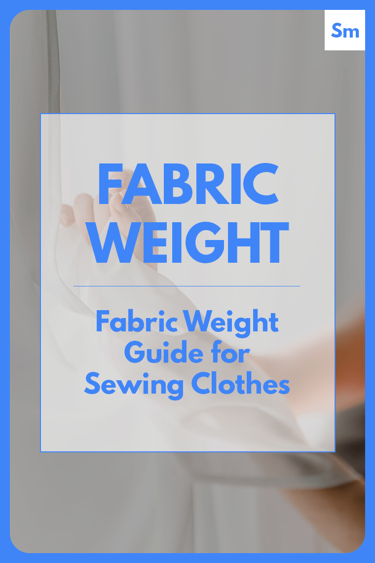 Fabric weight is how much one square yard or one square meter of fabric weighs when you drop it on a scale.. Read on to learn why fabric weight matters in sewing clothes and how fabric weight is calculated.