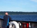 Campbell River - Quadra Island Ferry, August 2014
