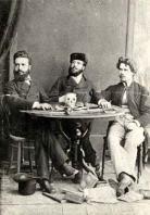 Христо Ботев Никола Славков и Иван Драсов 1875 г