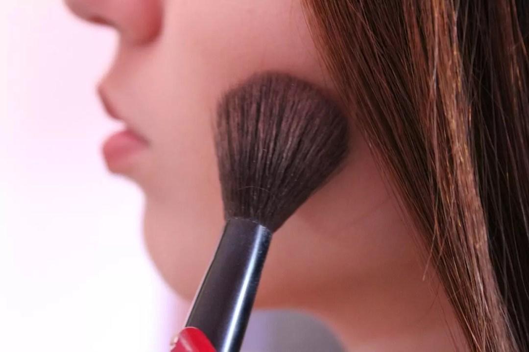 Fallos de maquillaje. Errores con el rubor