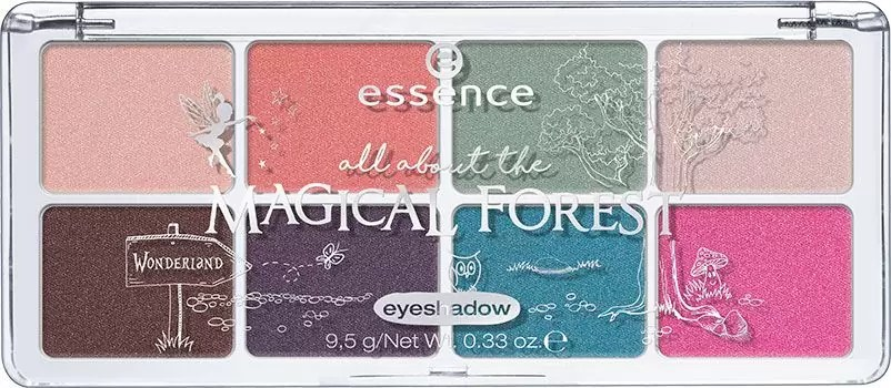 Essence All About Eyeshadow Palette in The Magical Forest