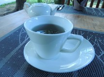 One of the selections of tea at Banllé
