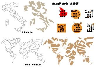 Maps-Italy-World