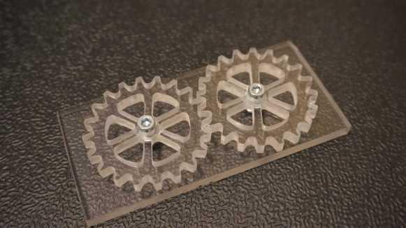 Acrylic Gears