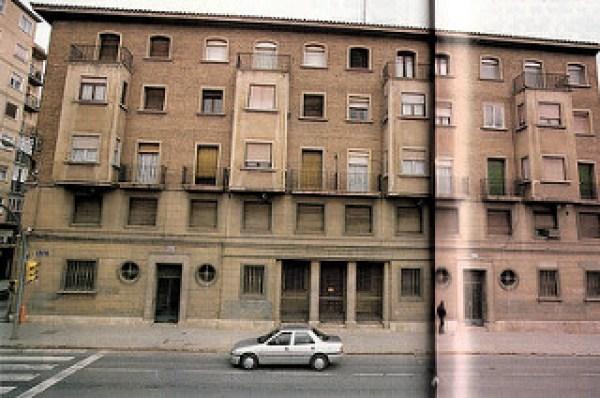 9-Miguel Servet 1990 _ Imagen de la fachada principal del anti… _ Flickr_files