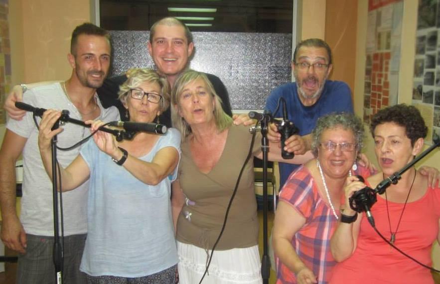 TRAFULLA TEATRO - 2014 (David, Maria Jose, Carlos, Lola, Manuel, Chus y Mariangeles)