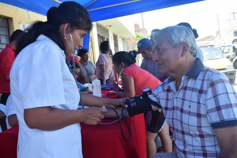 Ciudadanos de Alto Moche recibieron atención médica gratuita