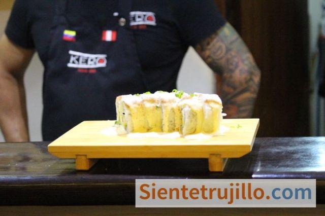 Experiencia gastronomía japonesa Trujillo