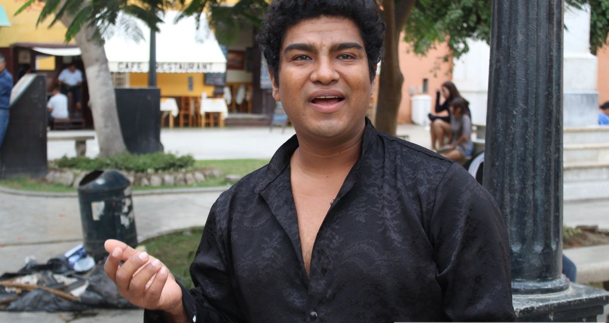 Músico Cristian Castro Romero