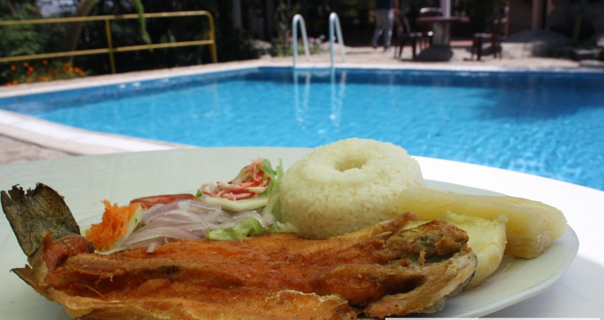 Trucha frita en Shirán