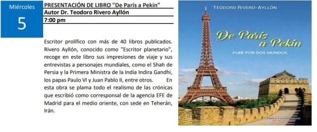 programa cultural Trujillo