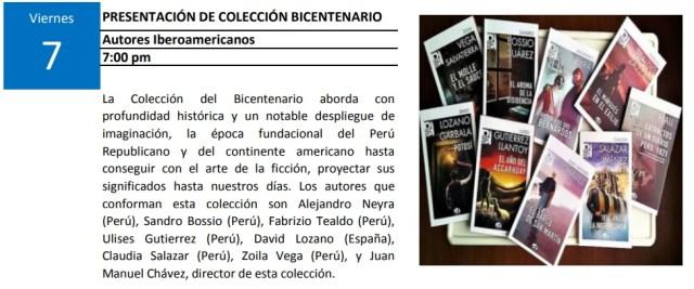 Presentación Colección Bicentenario
