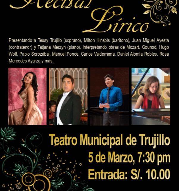 Recital Lírico por Trujillo, Hinsbis