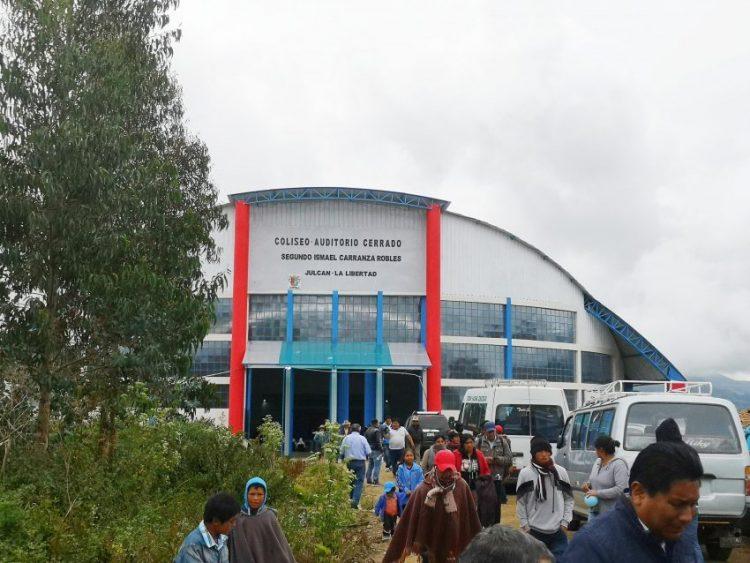 Coliseo auditorio Julcán