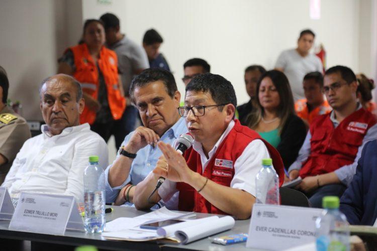 emergencia distritos de La Libertad